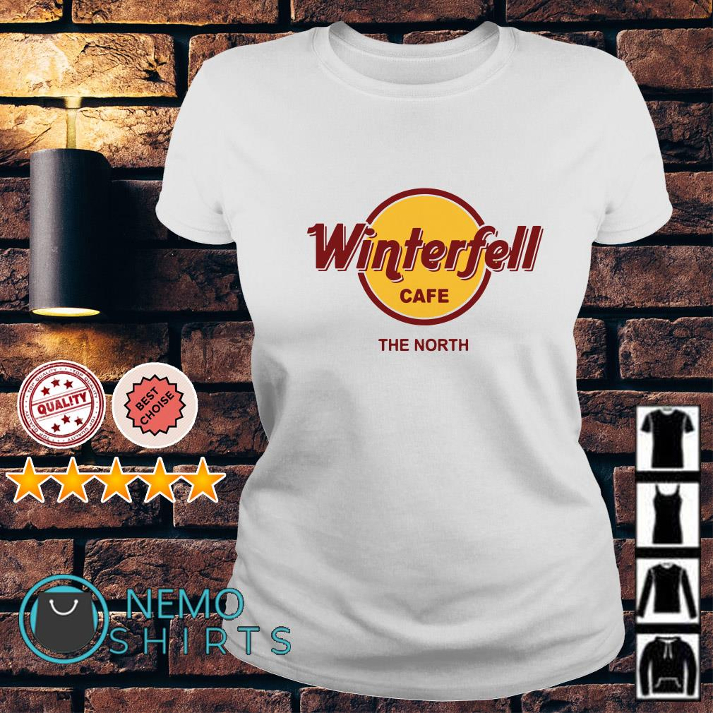 Game Of Thrones Winterfell Cafe The North Ladies tee