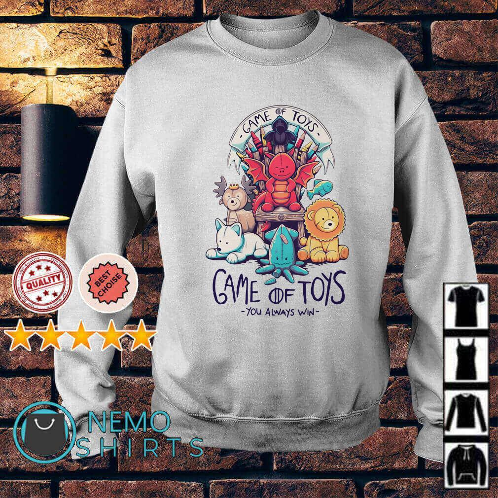 Game of Toys you always win Game of Thrones Sweater