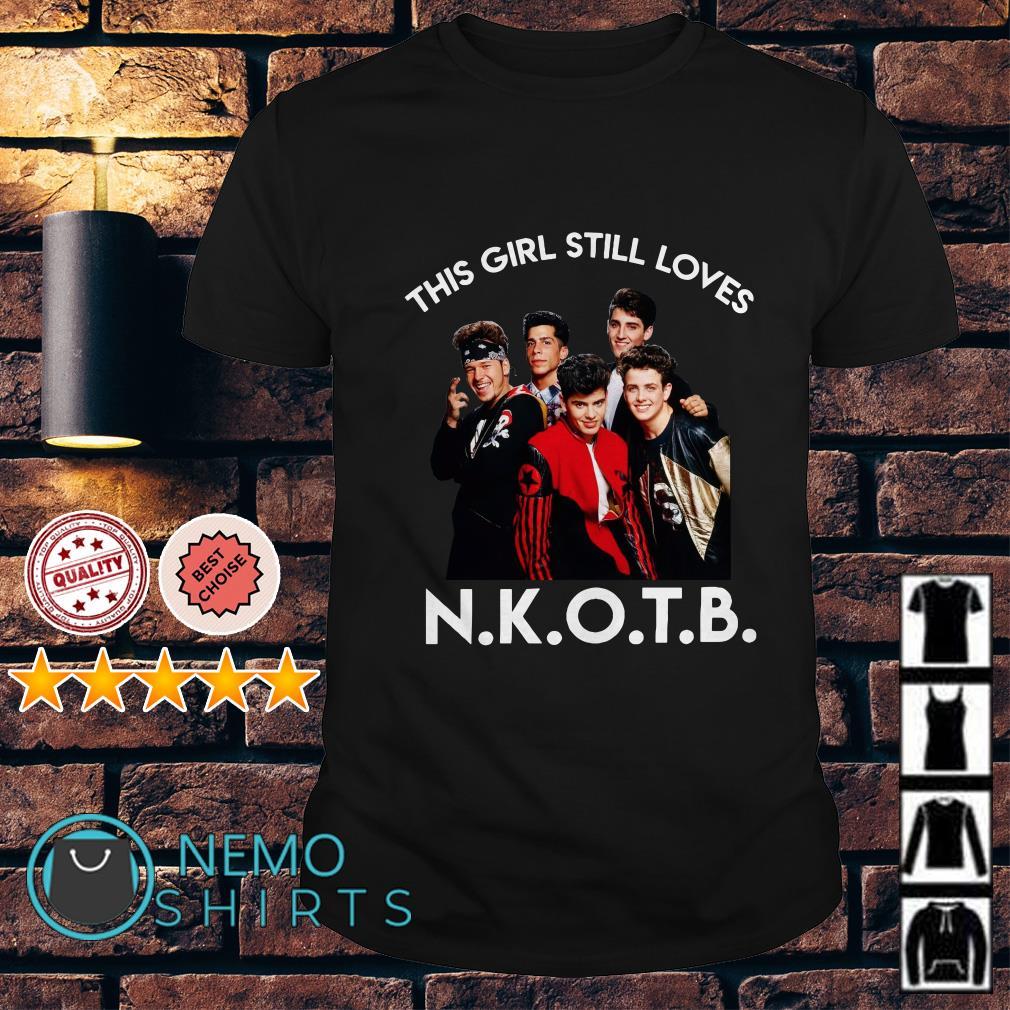 This girl still loves NKOTB New Kids on the Block shirt