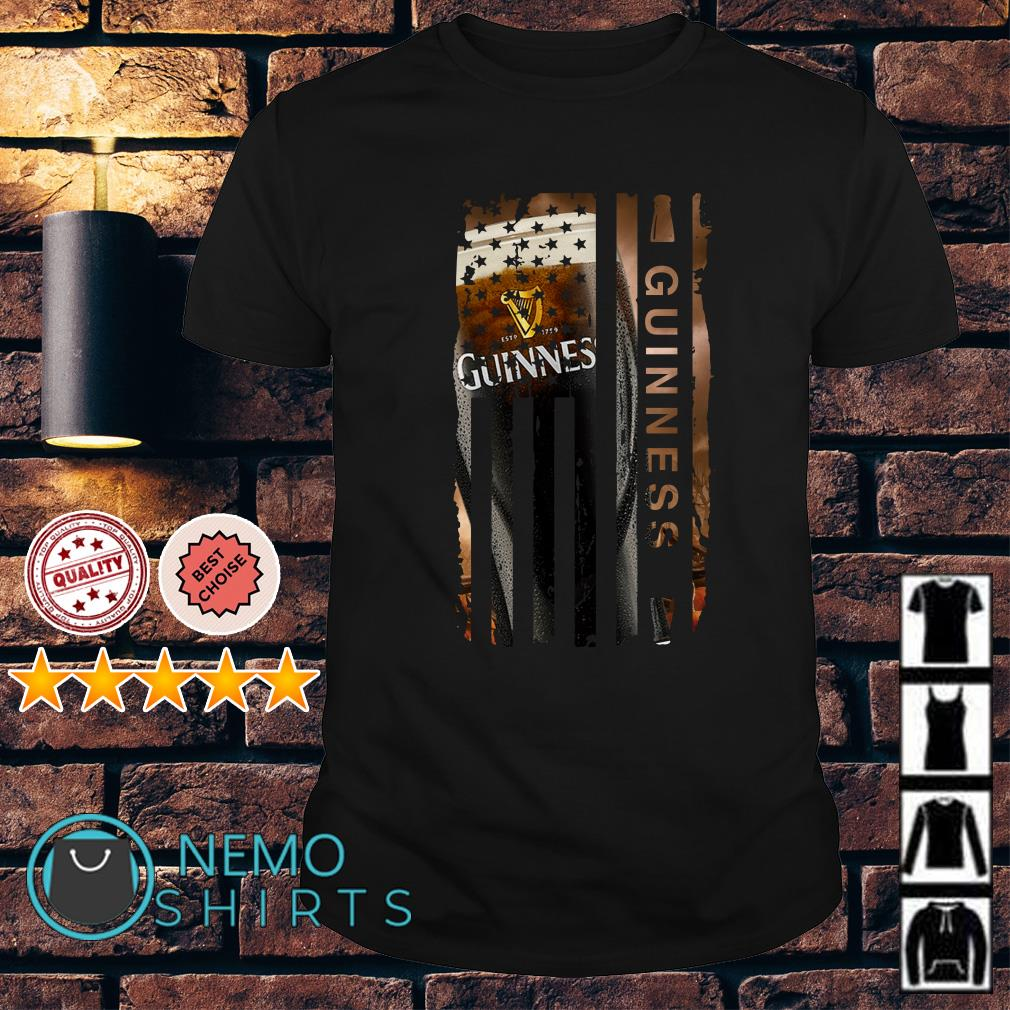 Guinness America Flag Independence Day shirt