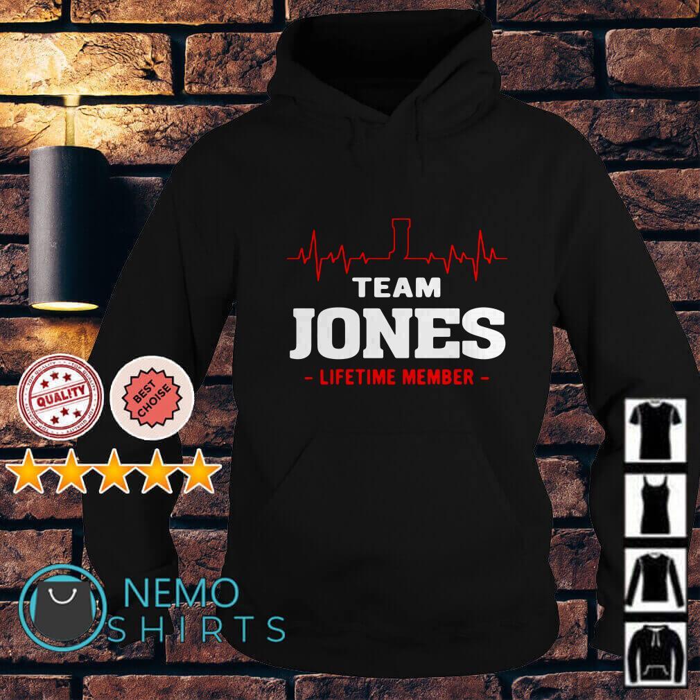 Heartbeat J team Jones lifetime member Hoodie