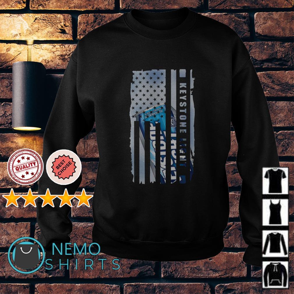 Keystone Light America Independence Day Flag Sweater
