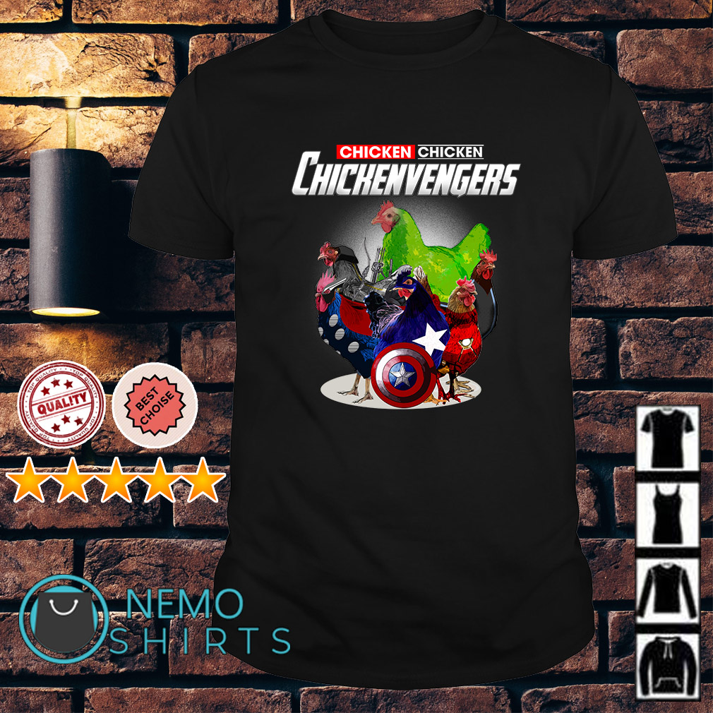 Marvel Avengers Chicken Chickenvengers shirt