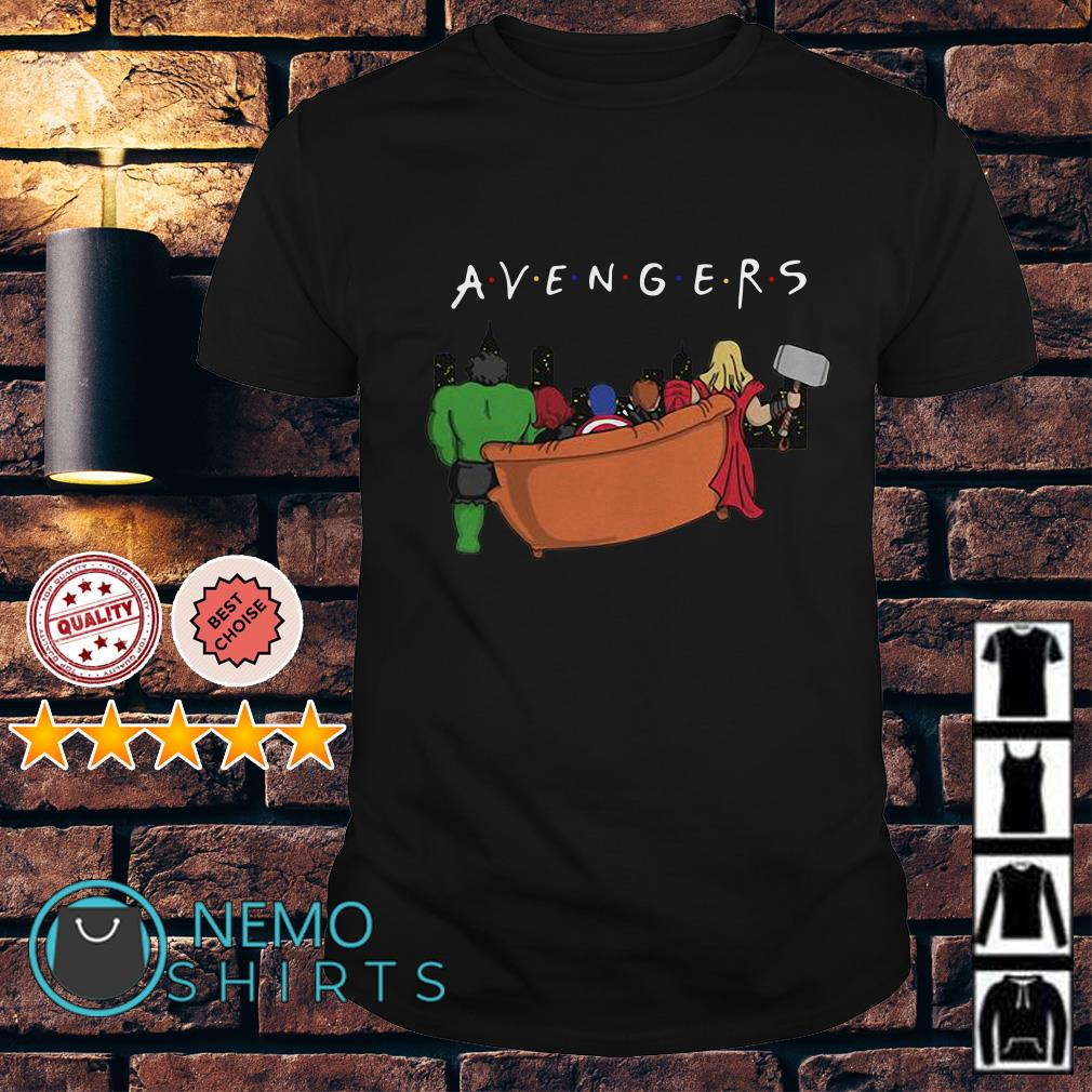 Marvel Avengers Endgame parody Friends TV show shirt