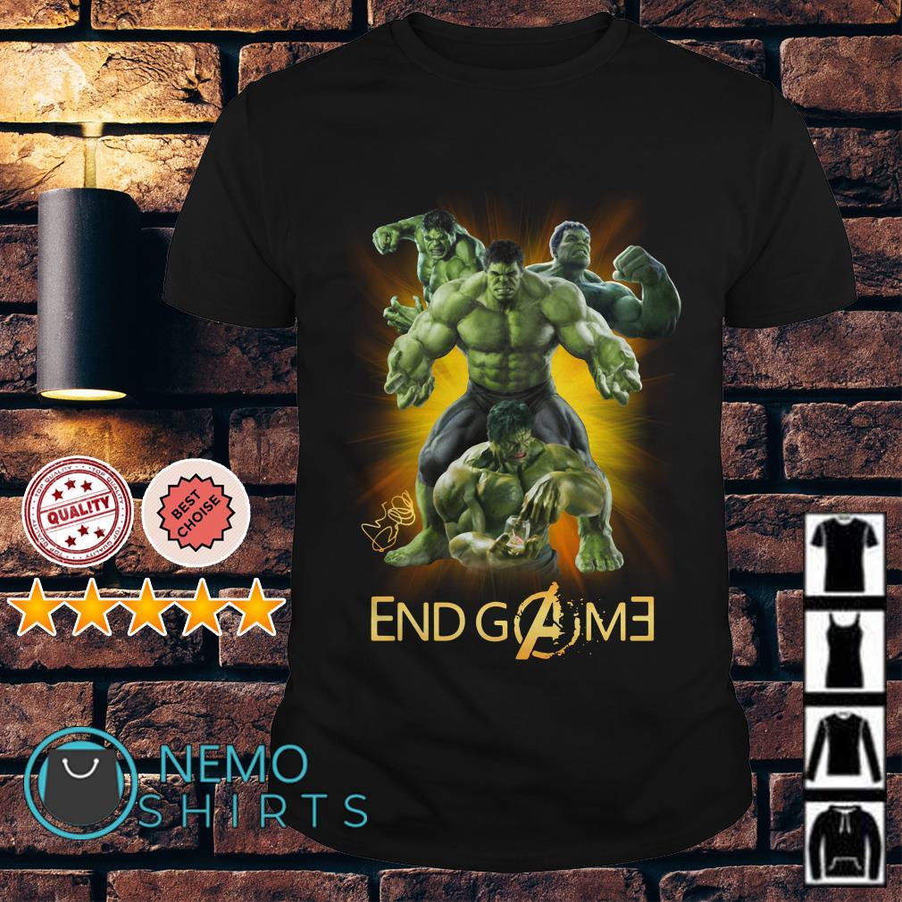 Marvel Avengers Hulk Endgame shirt