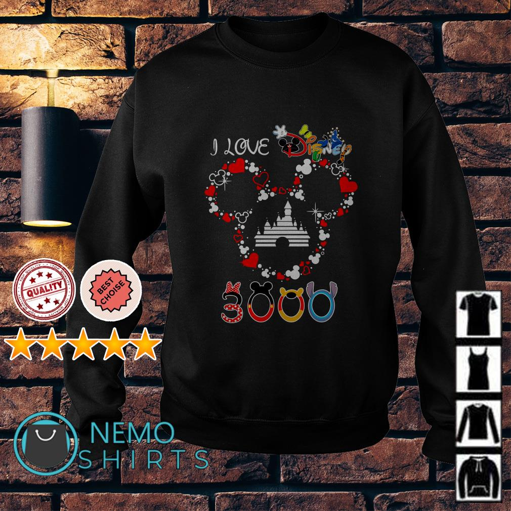 Mickey mouse I live Disney 3000 Sweater