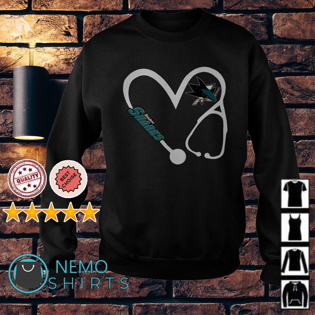 Nurse love San Jose Sharks Sweater