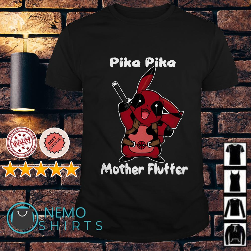 Pikapool Pika Pika mother fluffer shirt