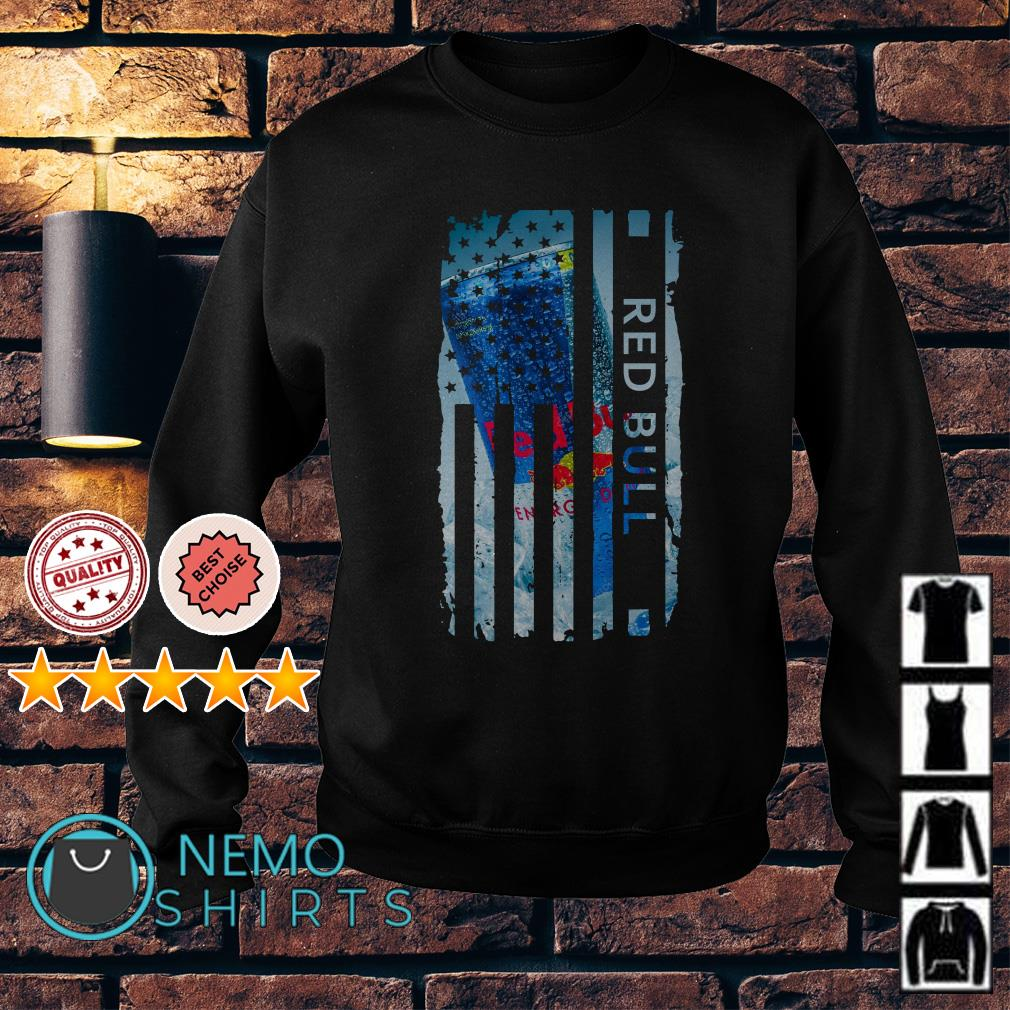 Red Bull America Flag Independence Day Sweater
