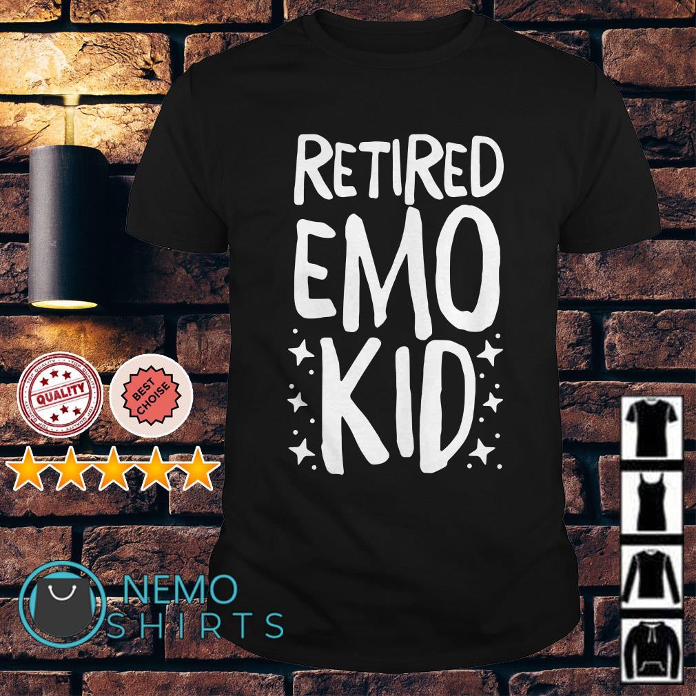 Retired emo kid shirt