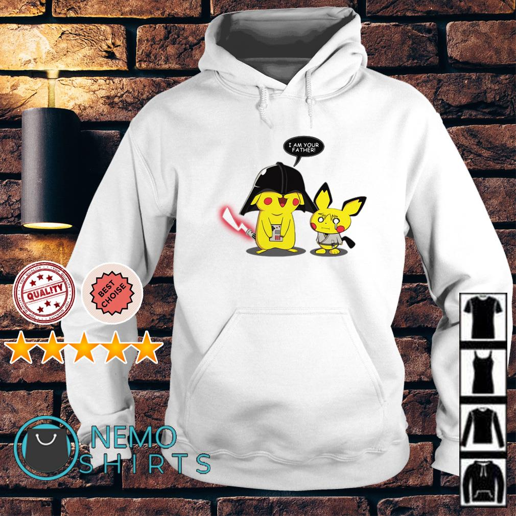 Star Wars Darth Vader Pikachu I am your father Hoodie