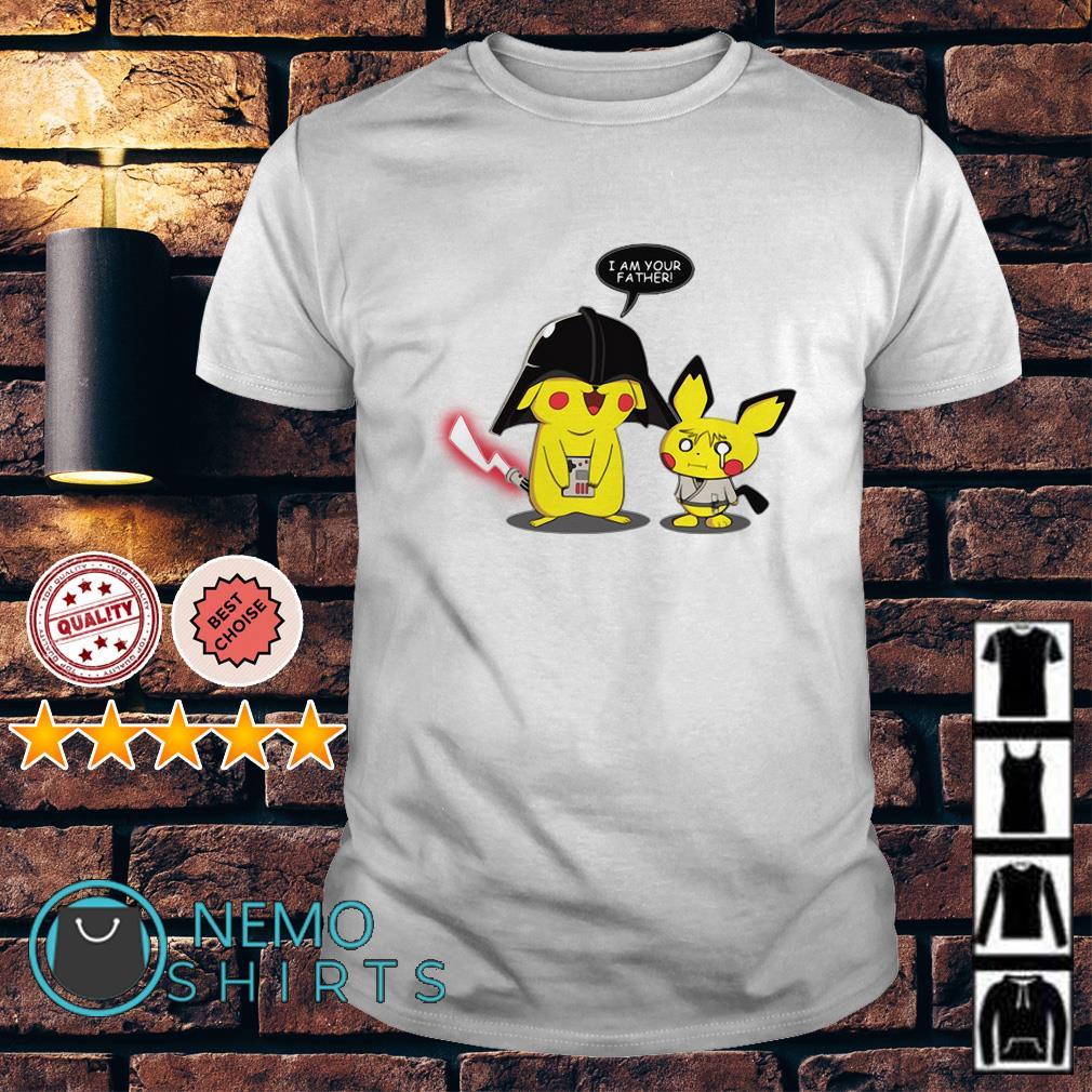 Star Wars Darth Vader Pikachu I am your father shirt