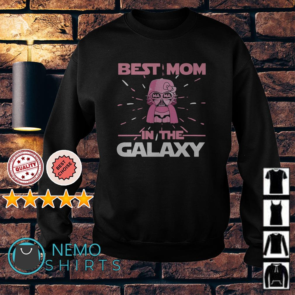 Star Wars Darth Vader pink best Mom in the Galaxy Sweater
