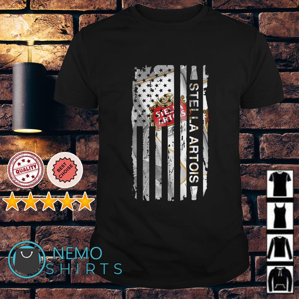 Stella Artois America flag Independence Day shirt