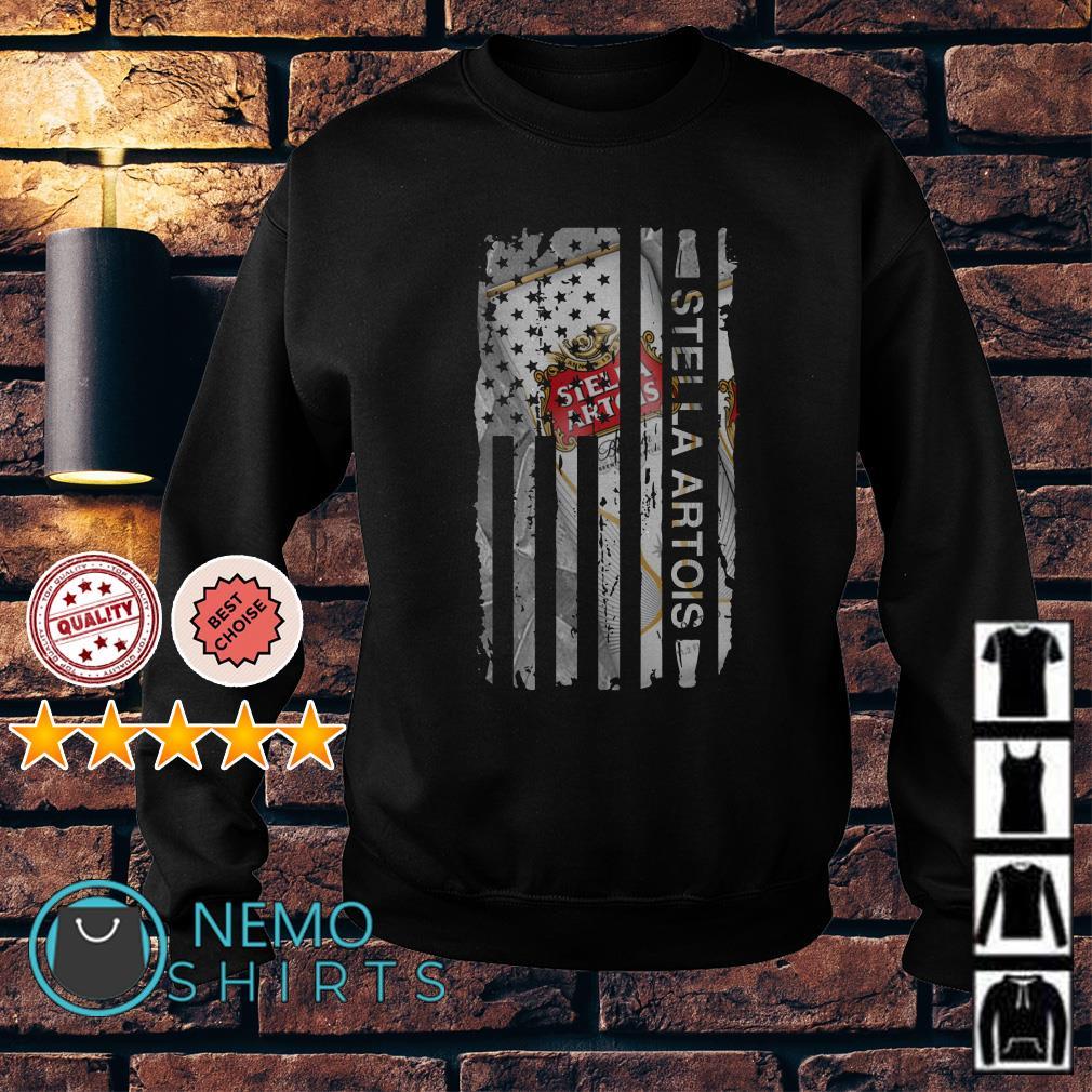 Stella Artois America flag Independence Day Sweater
