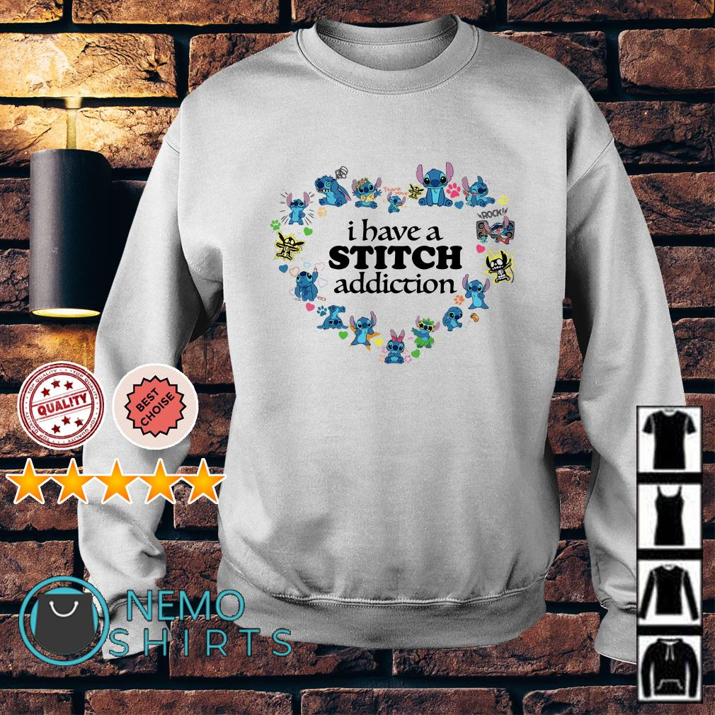 Stitch love I have a stitch addiction Sweater