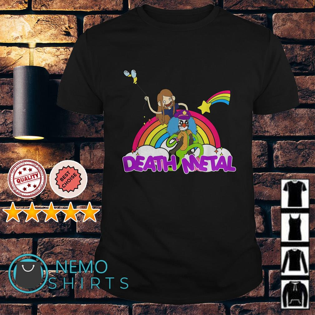 Toki and Dr Rockso rainbow death metal shirt