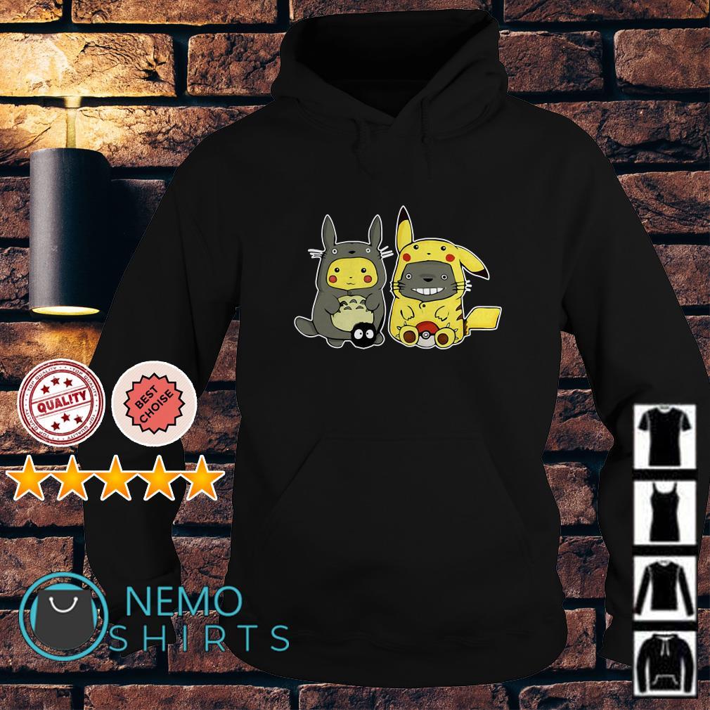 Totoro and Pikachu are best friends Hoodie