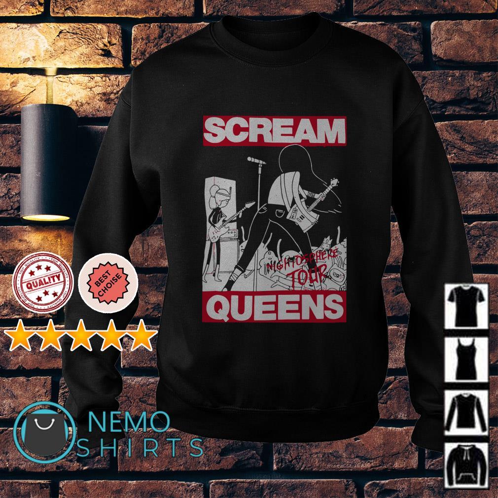Adventure Time Scream Queens Poster Sweater