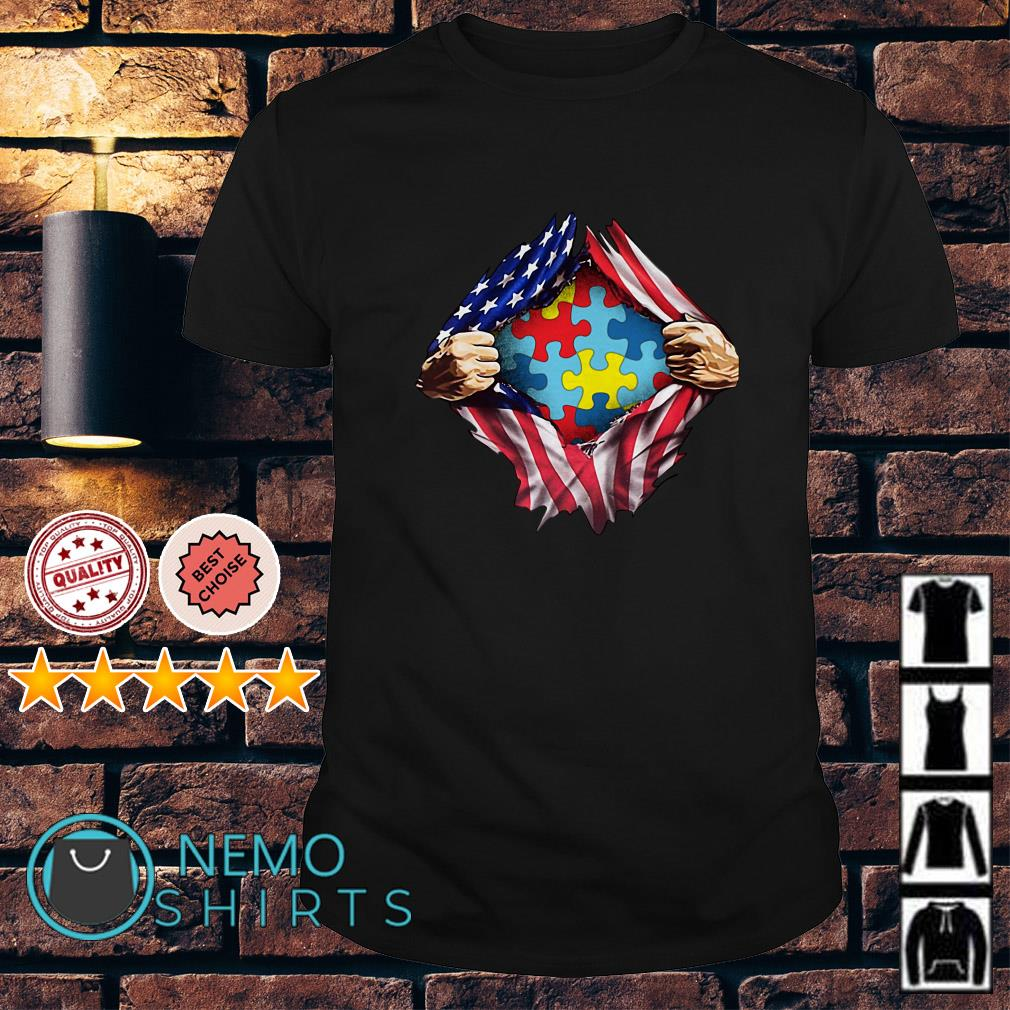 Autism inside me Independence day shirt