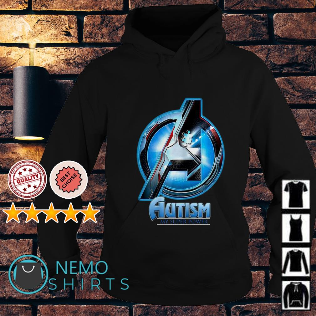 Avengers Autism my super power Hoodie