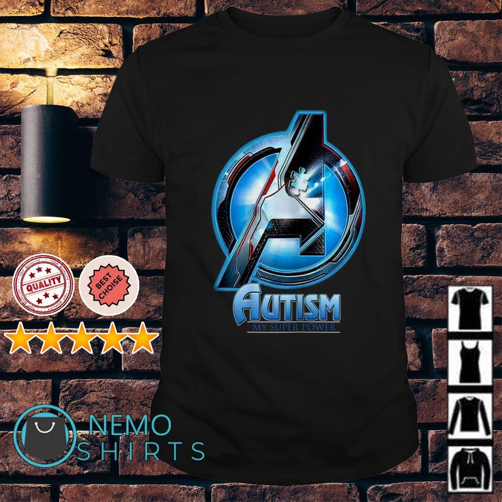 Avengers Autism my super power shirt