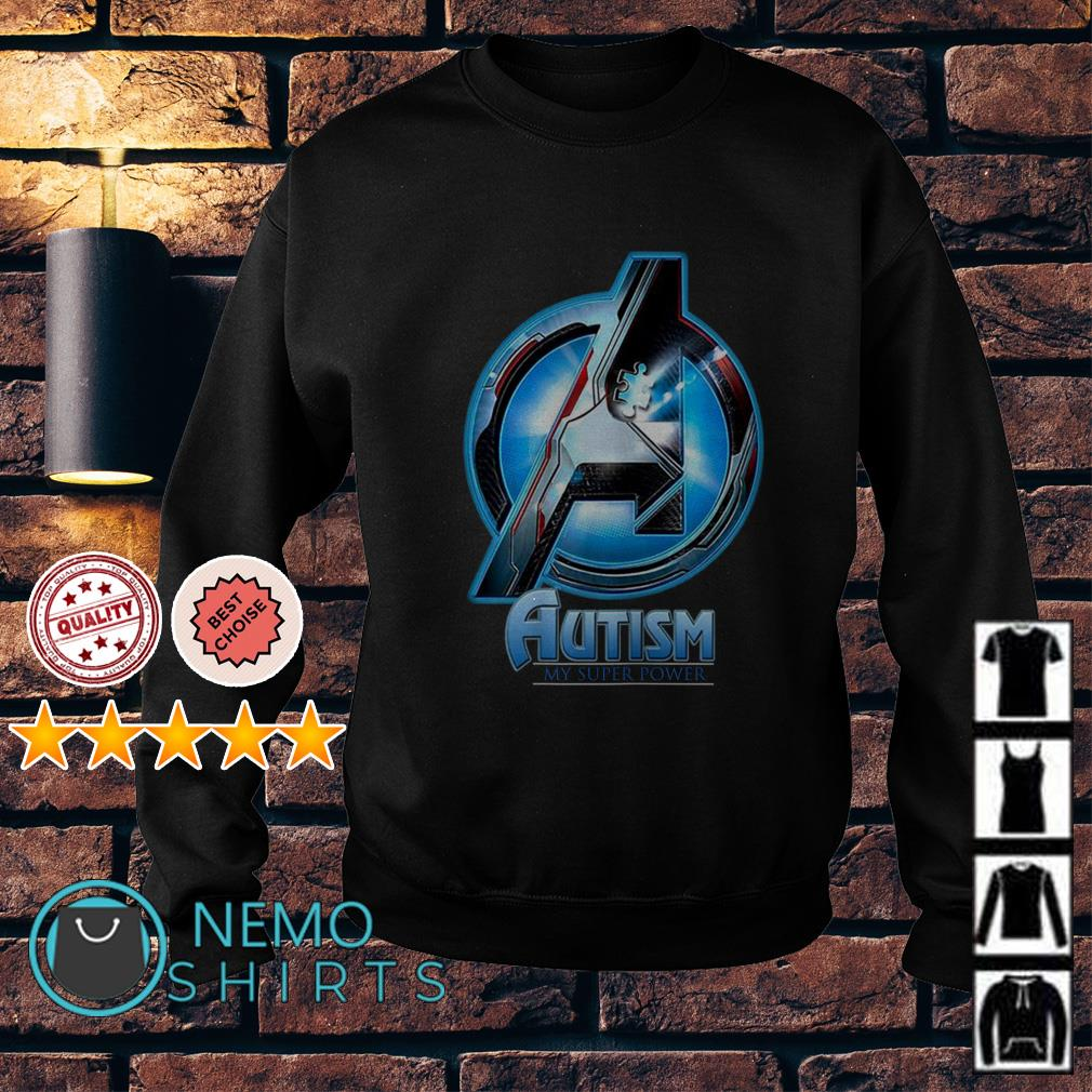 Avengers Autism my super power Sweater