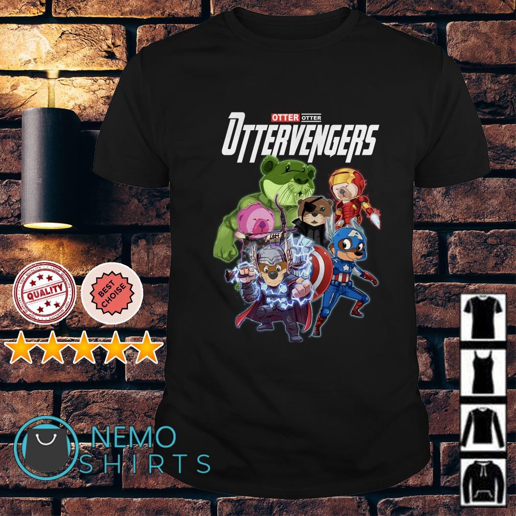 Avengers Otter Ottervengers shirt