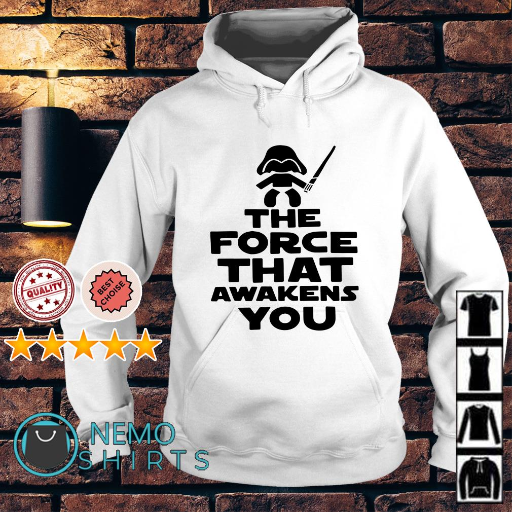 Baby Darth Vader the force that awakens you Hoodie