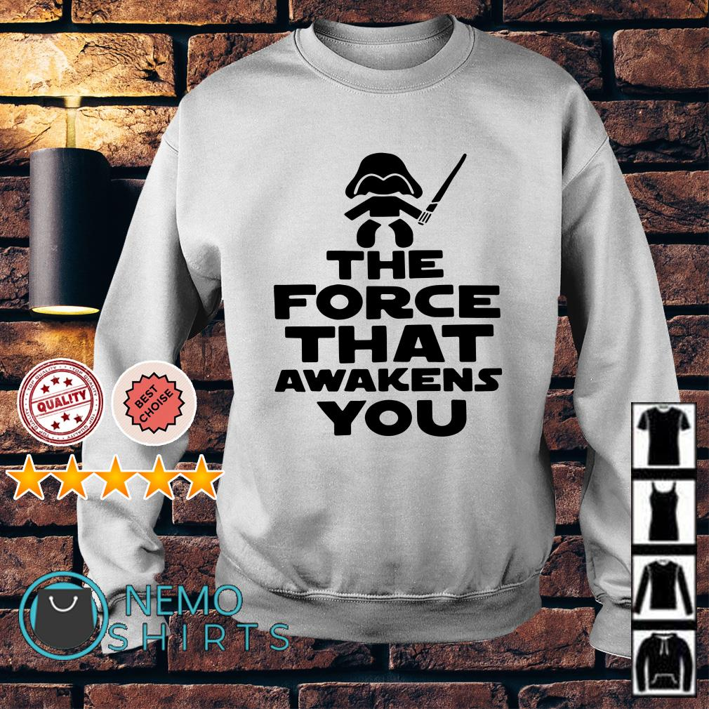 Baby Darth Vader the force that awakens you Sweater