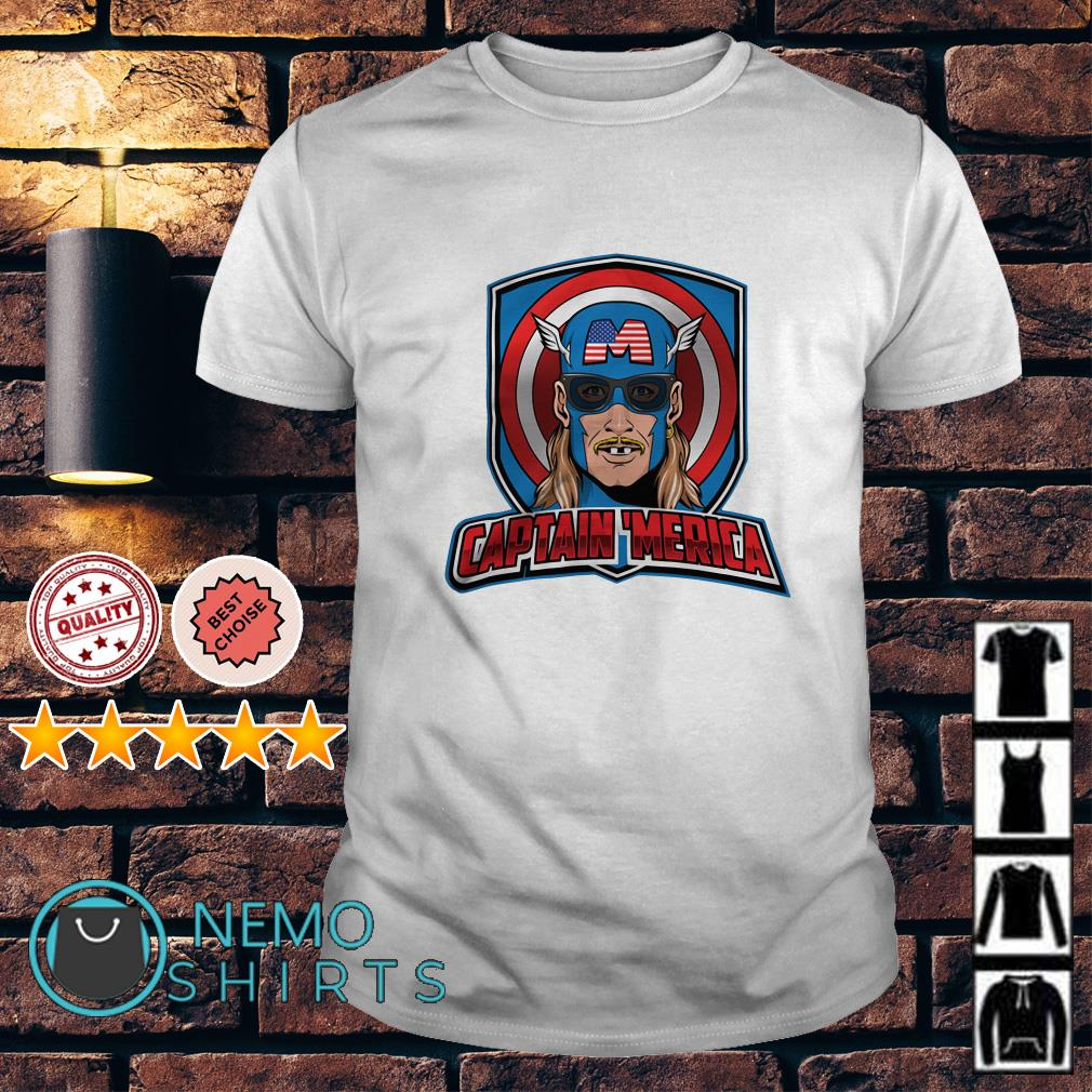 Captain Merican Independence day shirt