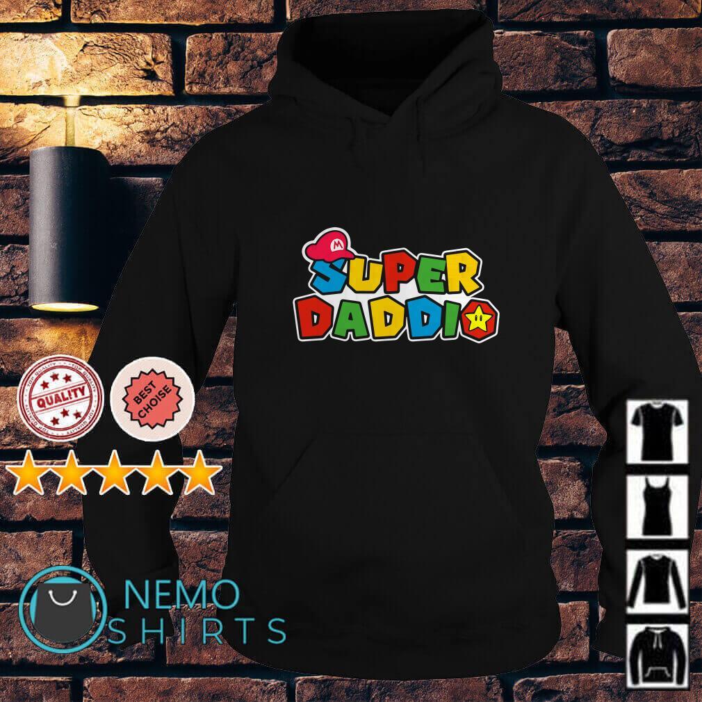 Daddy Super Mario super daddio Hoodie