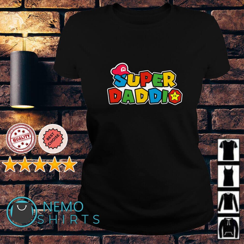 Daddy Super Mario super daddio Ladies Tee