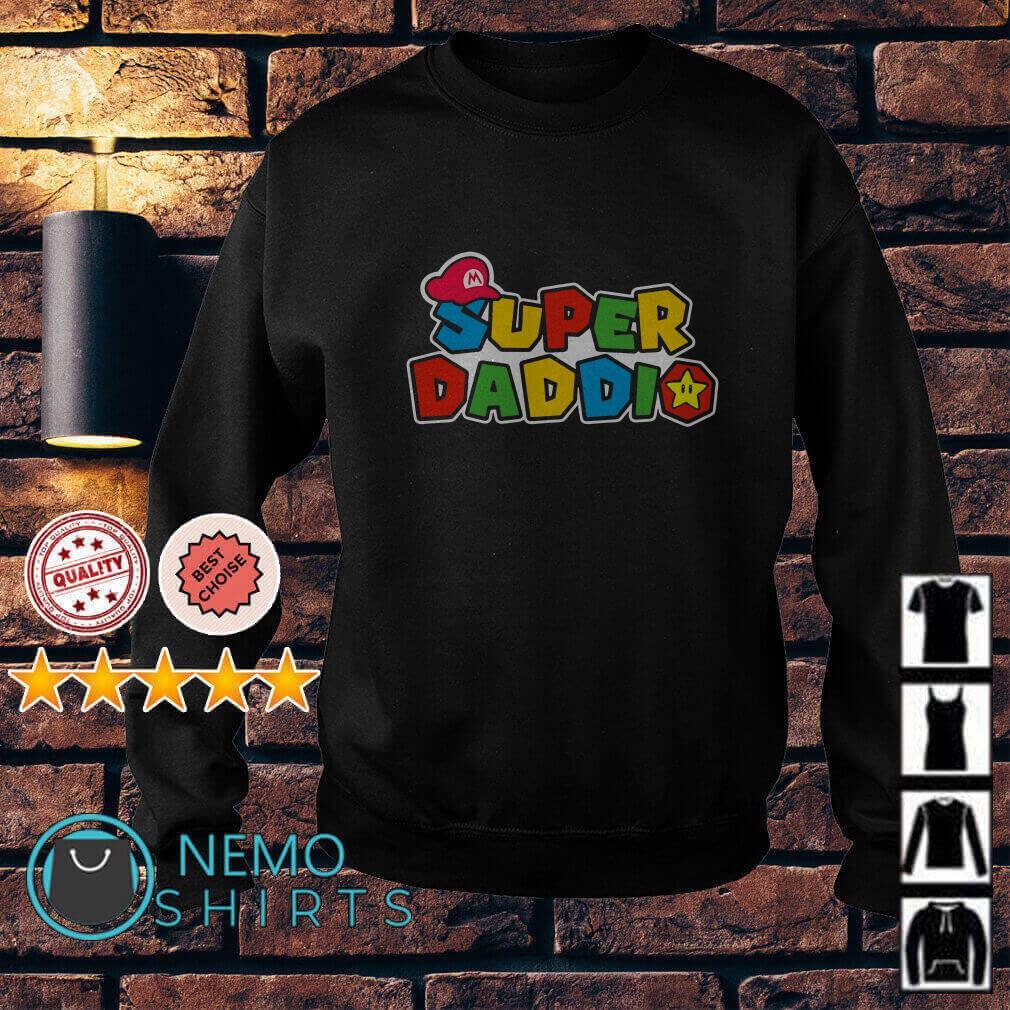 Daddy Super Mario super daddio Sweater