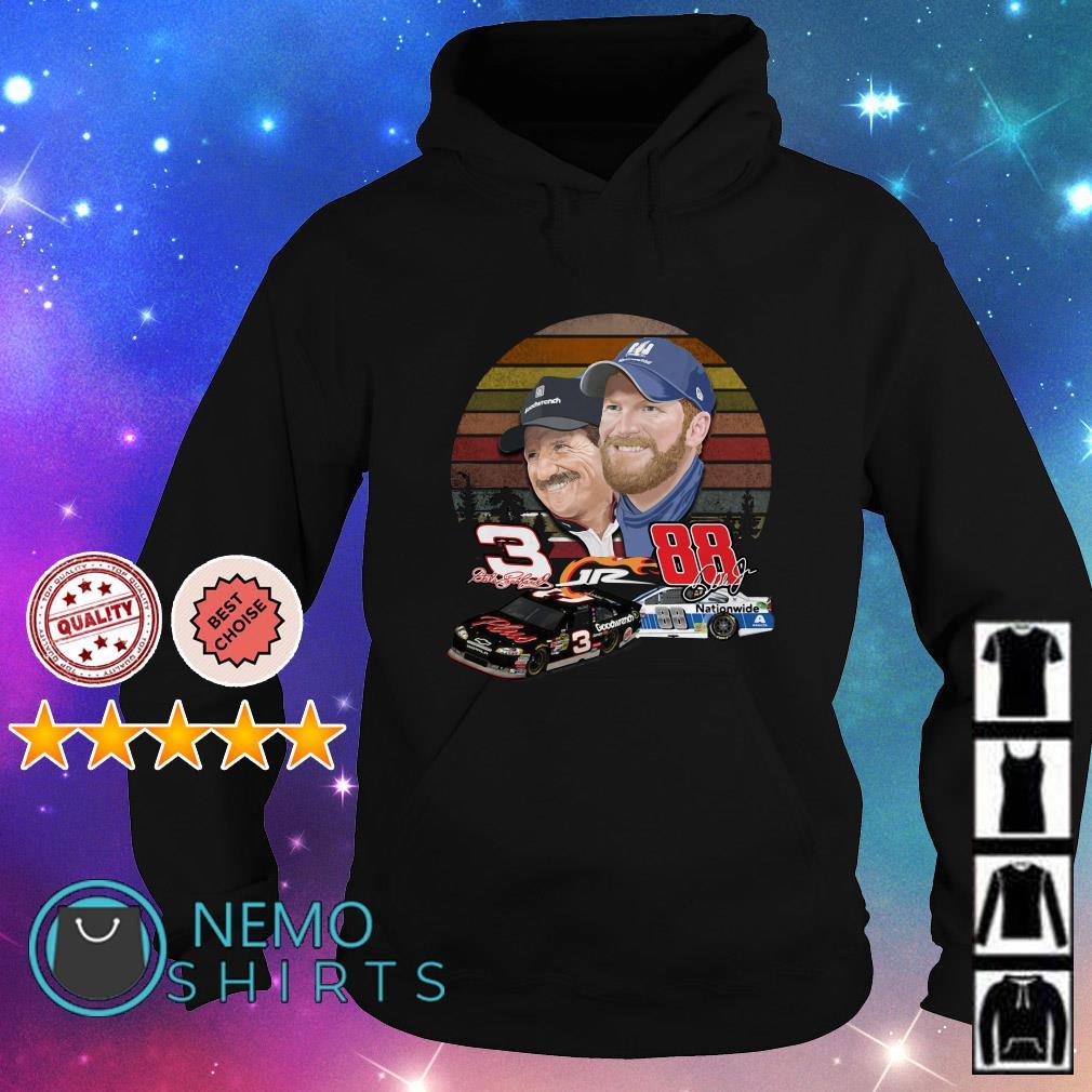 Dale Earnhardt and Dale Earnhardt Jr. forever love vintage Hoodie