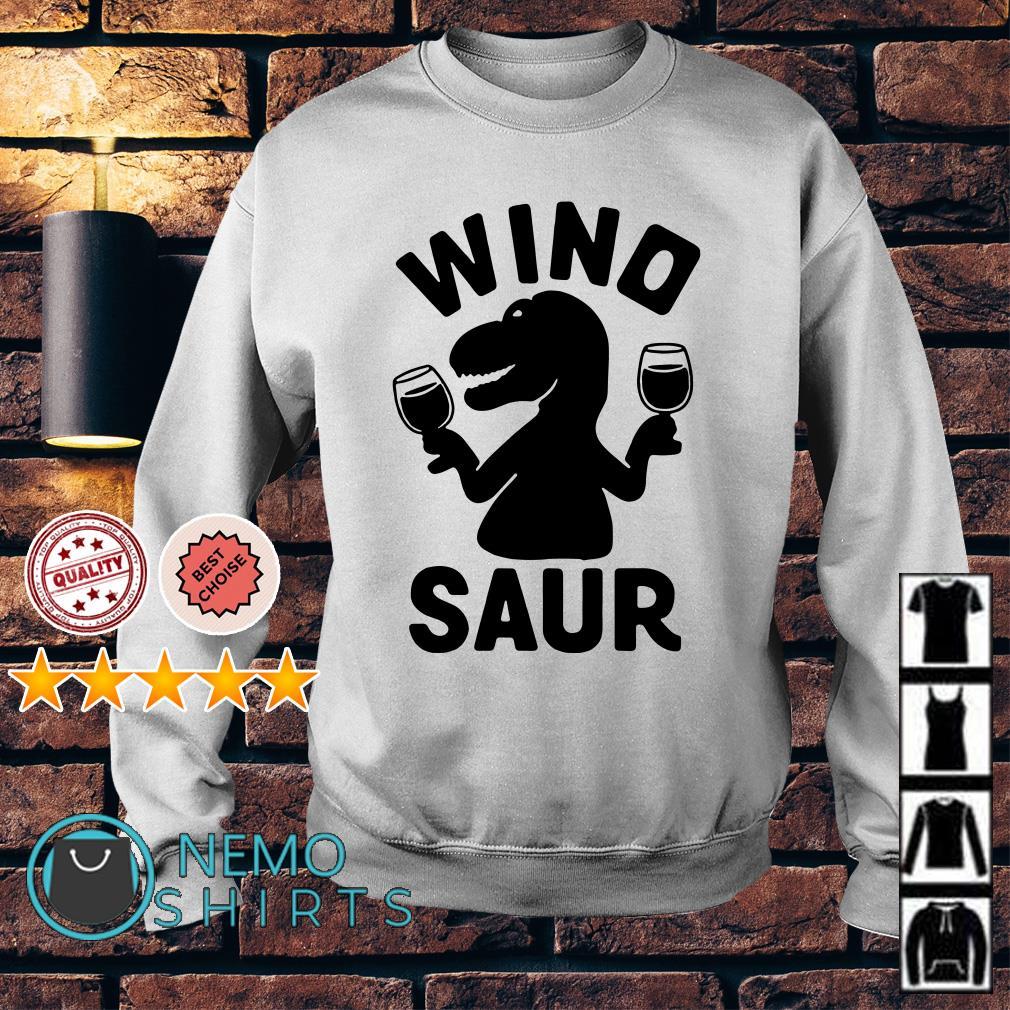 Dinosaur drink wine Wino saur Sweater