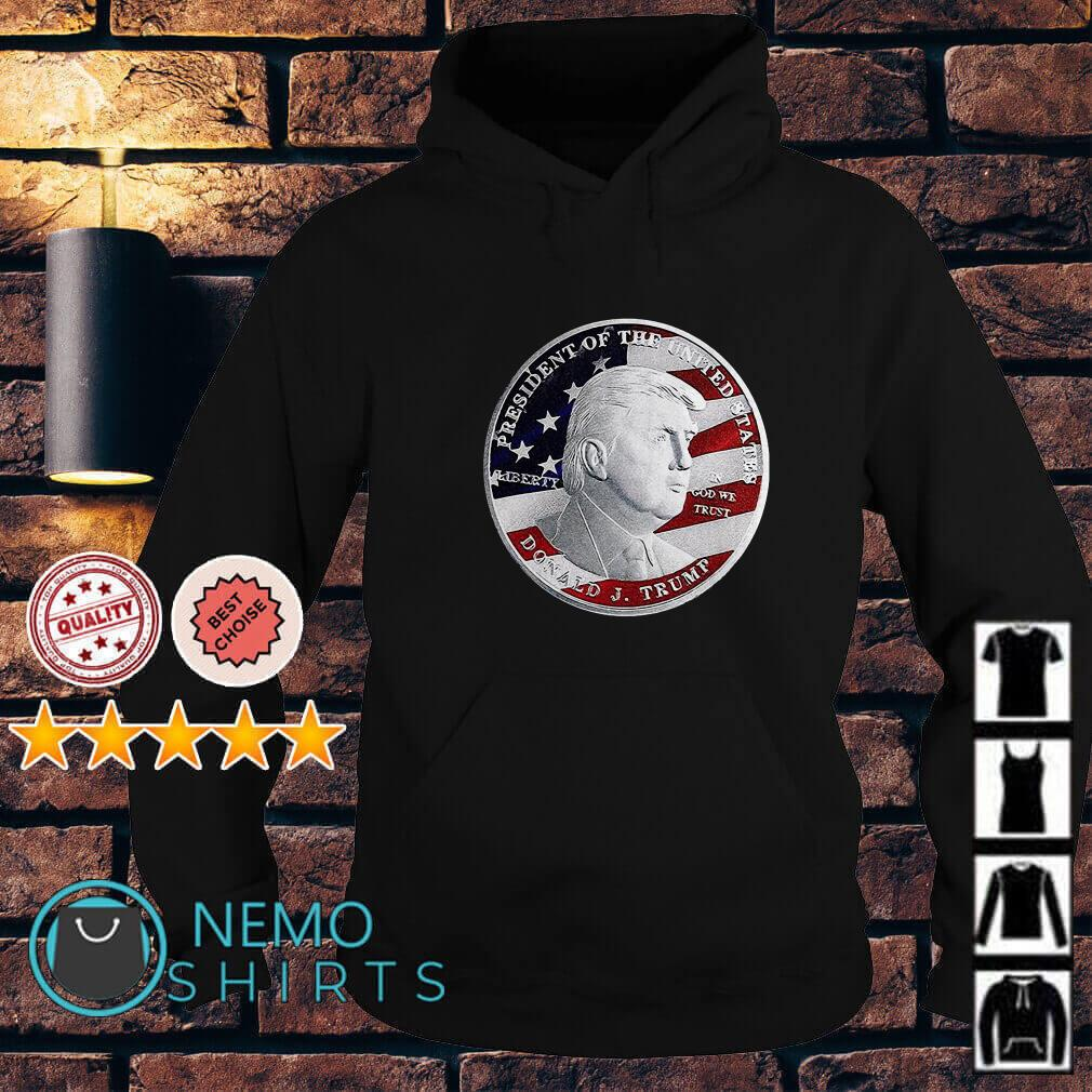 Donald Trump coin Hoodie