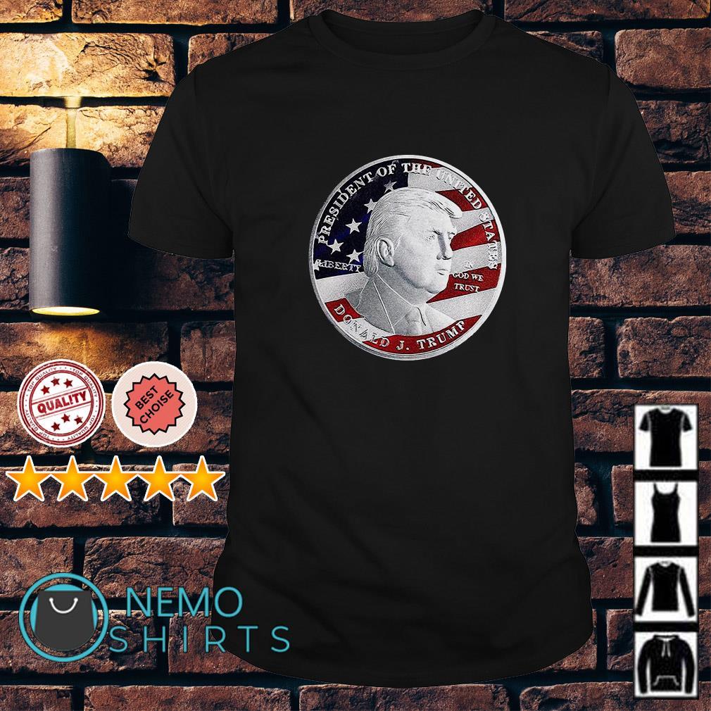 Donald Trump coin shirt