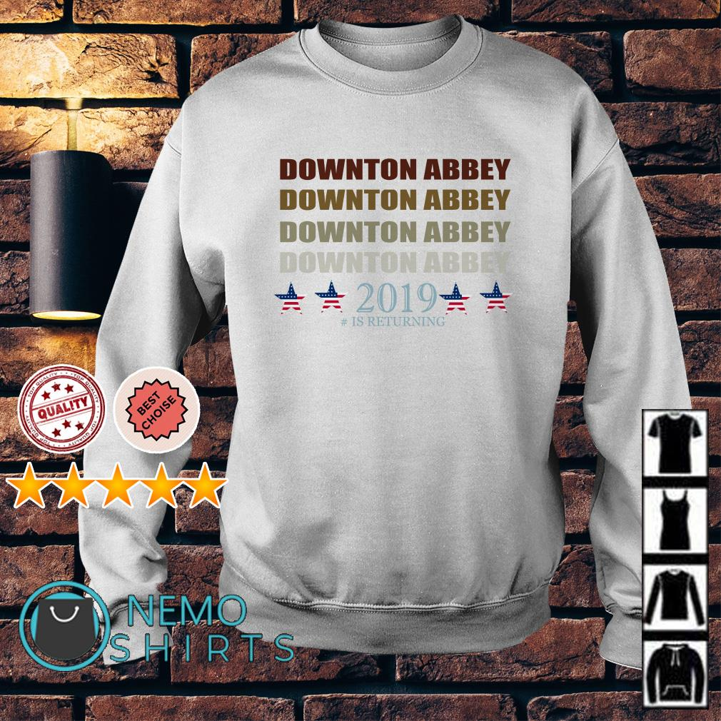 Downton Abbey 2019 is returning retro Sweater