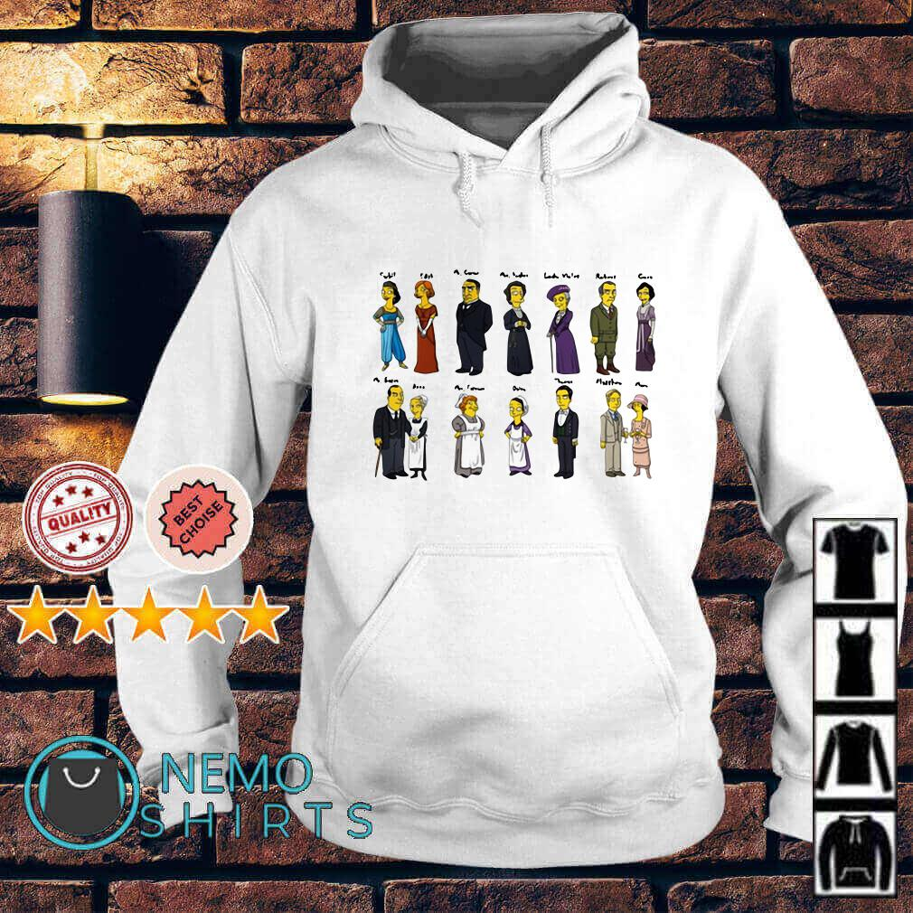 Downton Abbey Characters Portraits Hoodie