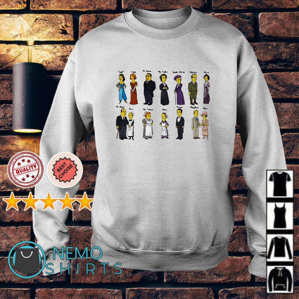 Downton Abbey Characters Portraits Sweater