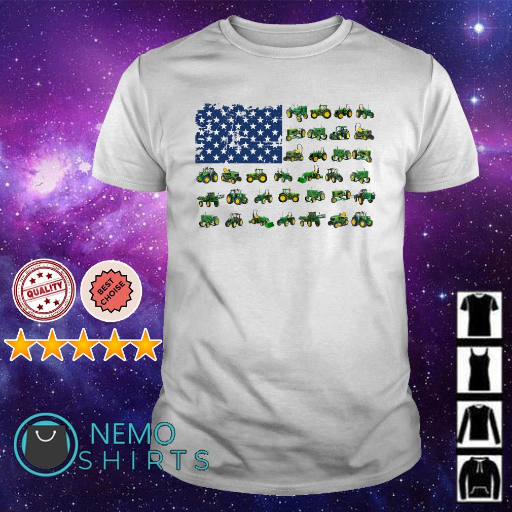 Farmer American flag Independence day shirt