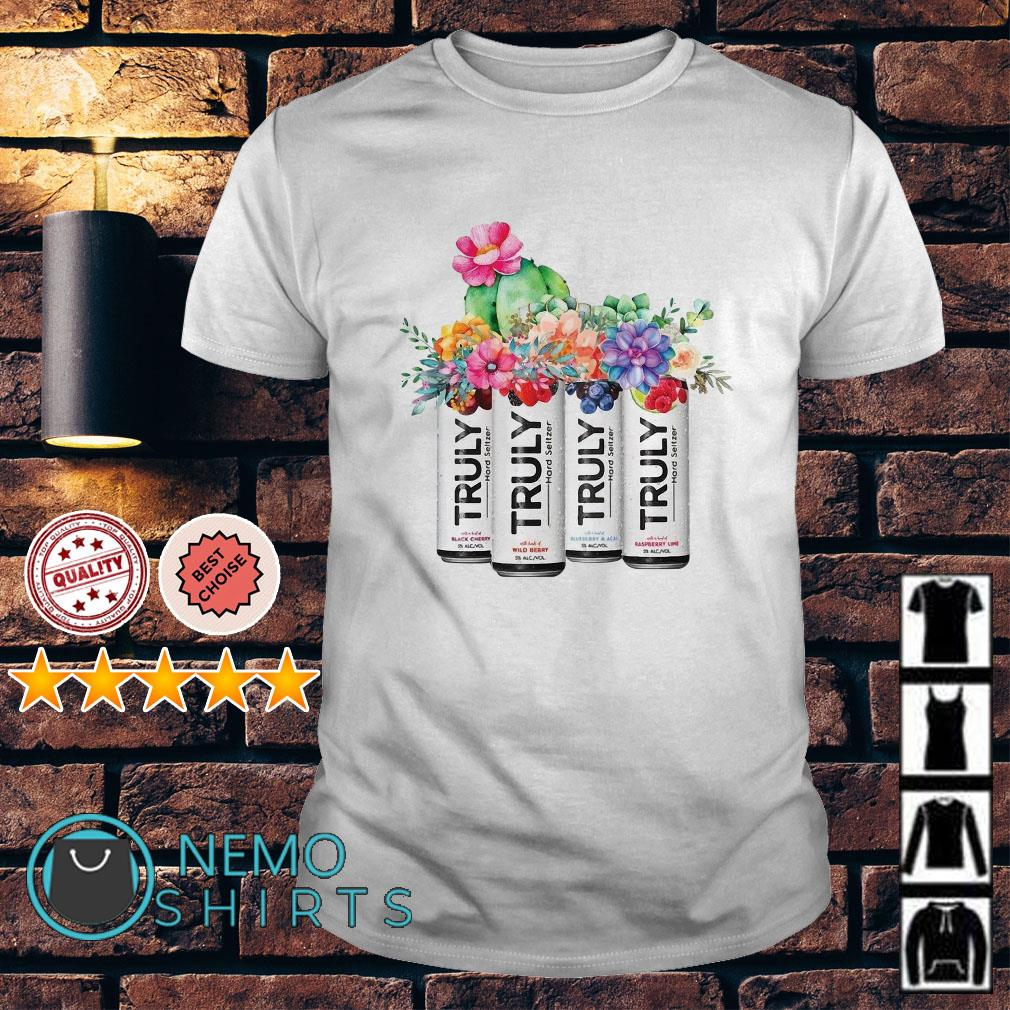 Flower Truly Spiked and Sparkling Berry Mix shirt