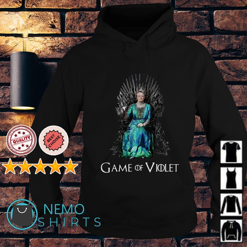 Game of Thrones Violet Crawley Game of Violet Hoodie