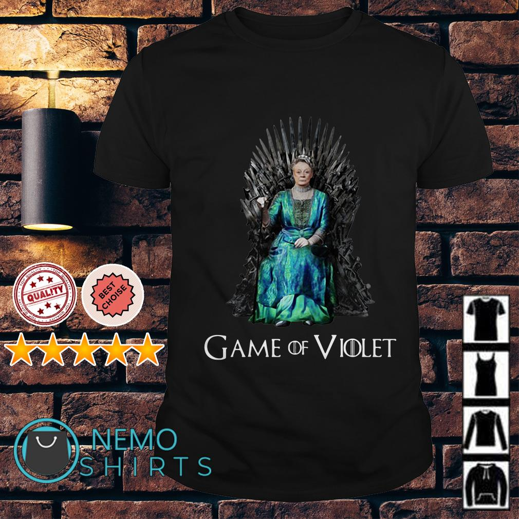Game of Thrones Violet Crawley Game of Violet shirt