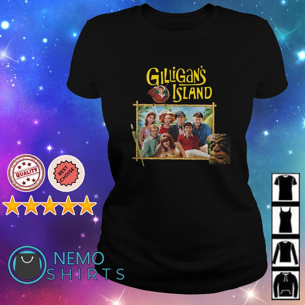 Gilligan's Island Famous Retro TV Show Ladies Tee