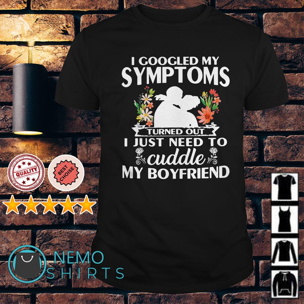 I googled my symptoms turned out I just need to cuddle shirt