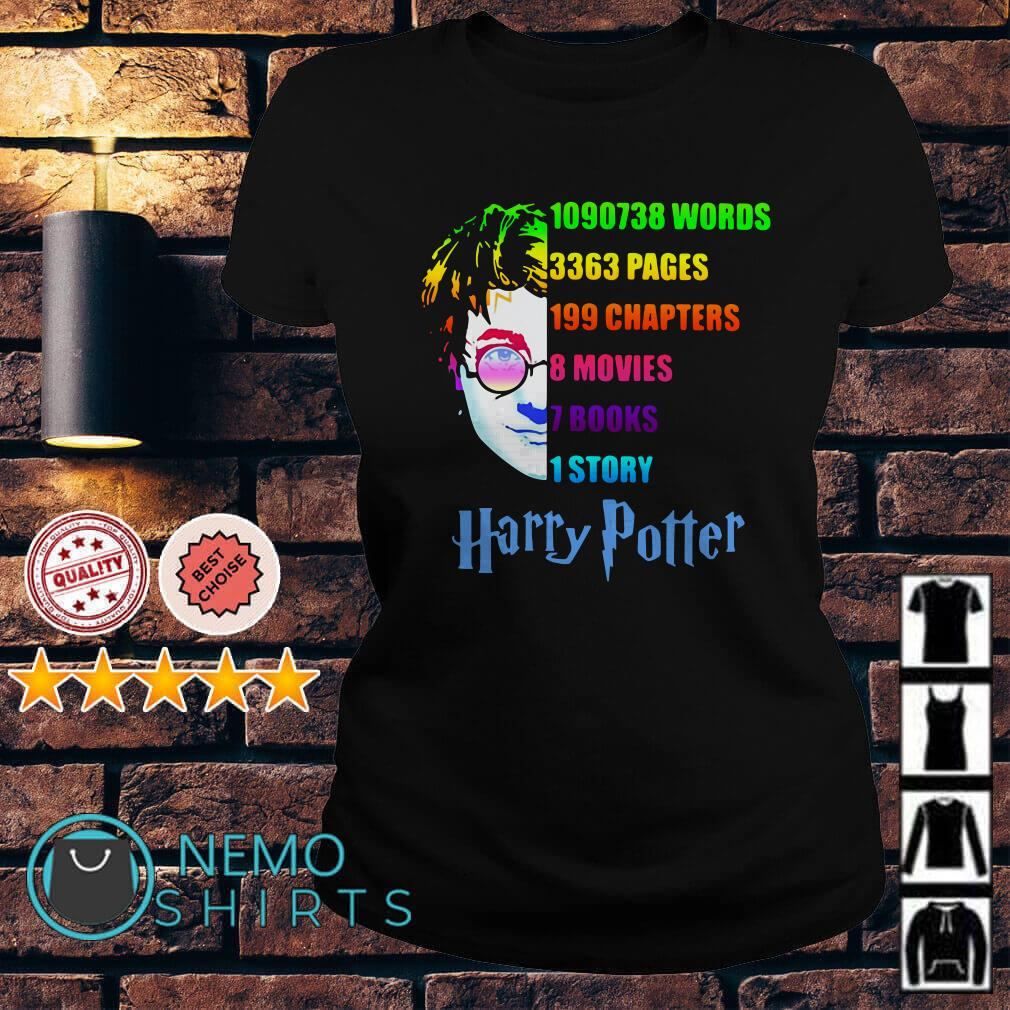 Harry Potter 1090738 words 3363 pages 199 chapters Ladies Tee
