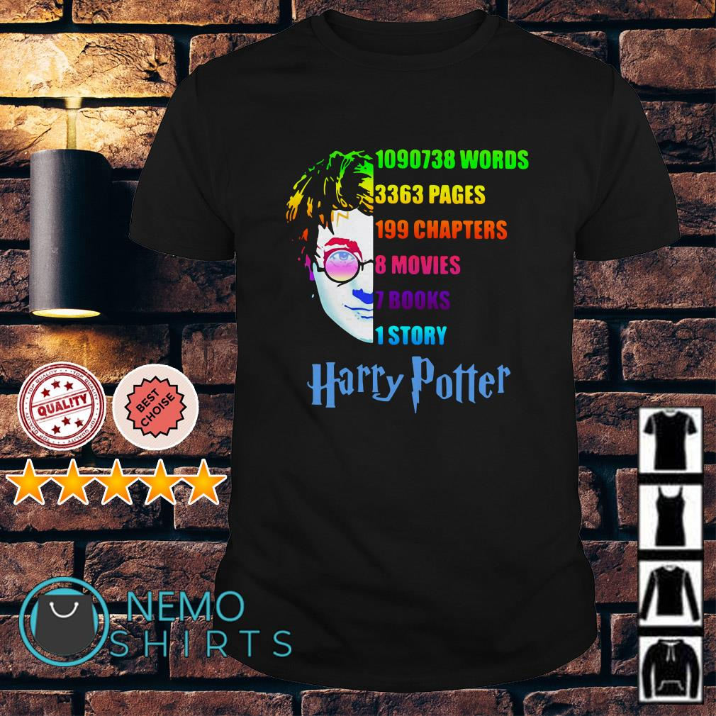Harry Potter 1090738 words 3363 pages 199 chapters shirt