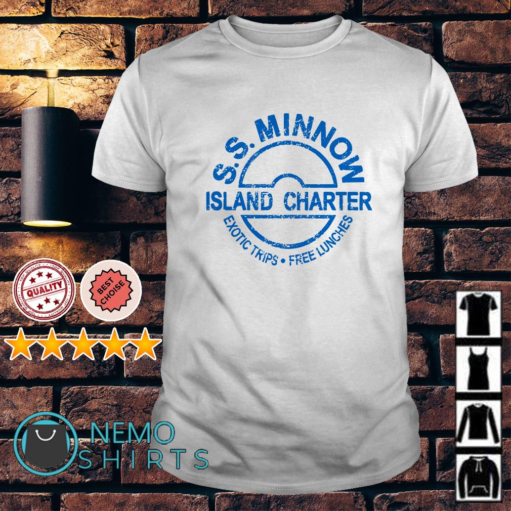 Island charter ss minnow exotic trips free lunches shirt